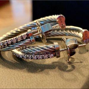 72995bc03 Women David Yurman Hoop Earrings on Poshmark